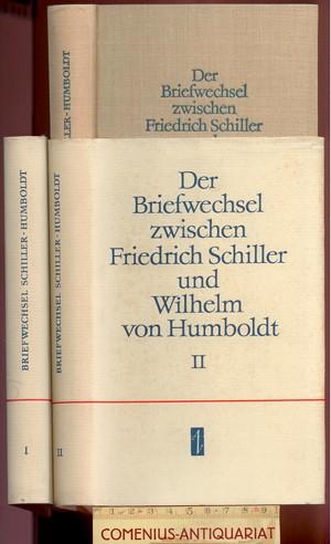 Schiller / Humboldt .:. Der Briefwechsel